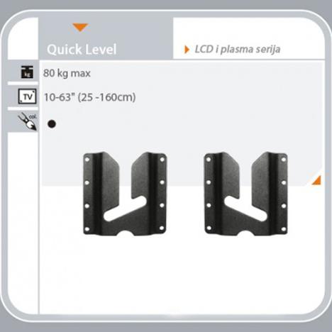 Quick-level-zidni nosač-shema