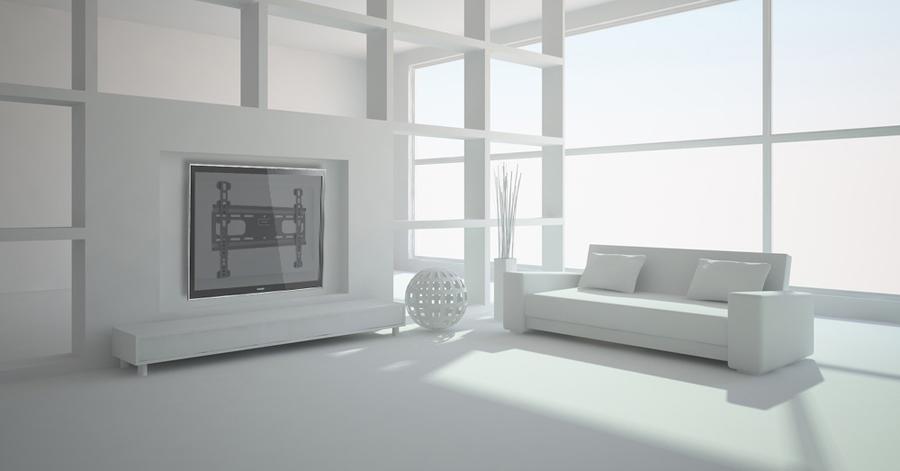 Slika 3. - Fiksni TV nosač