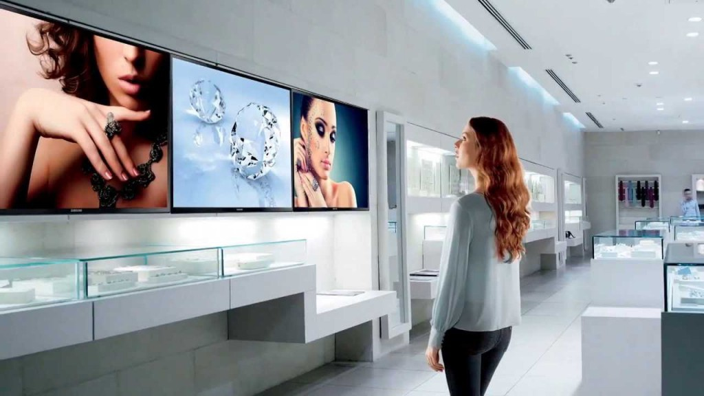 Nosači televizora u reklamne svrhe