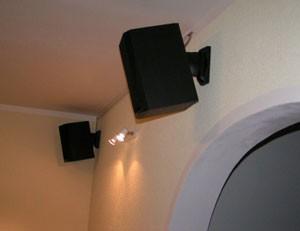 Punto nosači montirani na zid