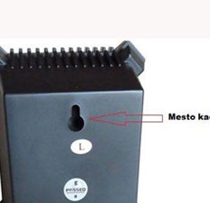 Slika 2 - Poleđina Malog Zvučnika - Kačenje Kao Slika Na Zidu