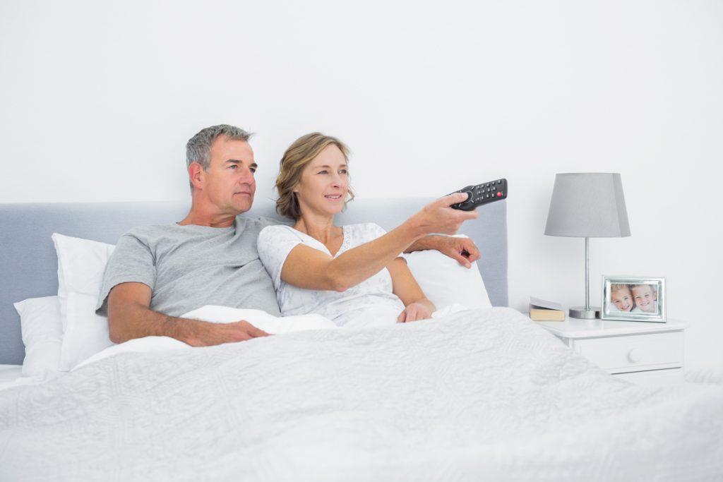 TV u spavacoj sobi
